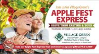 Apple Fest Express!  Drive Through Tasting and Tour