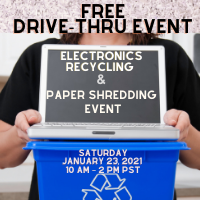 Free Document Shredding & Electronics Recycling Event at the South King Tool Library