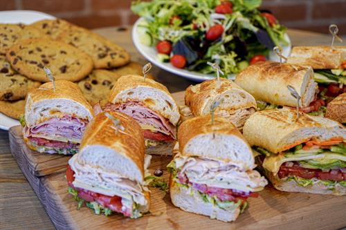 Catering Available- Sandwiches, Salads, Soups and Cookies!