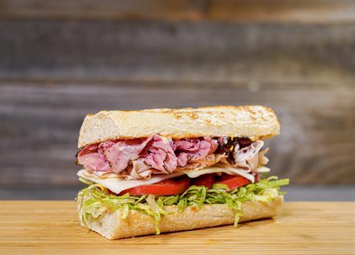 Pastrami Turkey Sandwich!