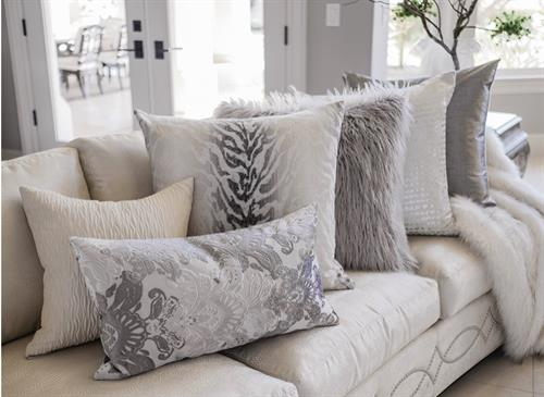 Luxury Throw & Accent Pillows