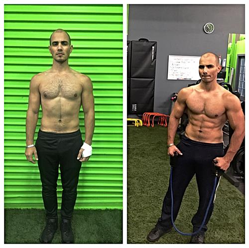 3 month transformation by Alex. Amazing!