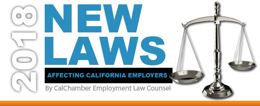 Image for CalChamber Releases List of New Employment Laws
