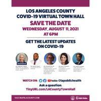 LA County COVID-19 Virtual Town Hall Update