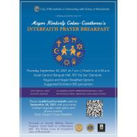 Mayor Kimberly Cobos-Cawthorne's Interfaith Prayer Breakfast