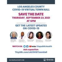 LA County COVID-19 Virtual Town Hall Webinar