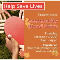 Beverly Hospital Community Blood Drive