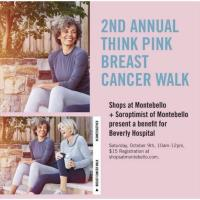 2nd Annual Think Pink Breast Cancer Walk