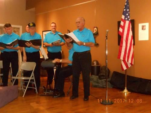 Performing for Veterans at Art Works