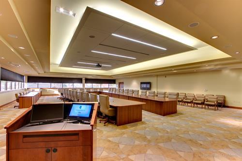 Vidant Health Boardroom
