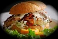 bacon ranch chicken burger