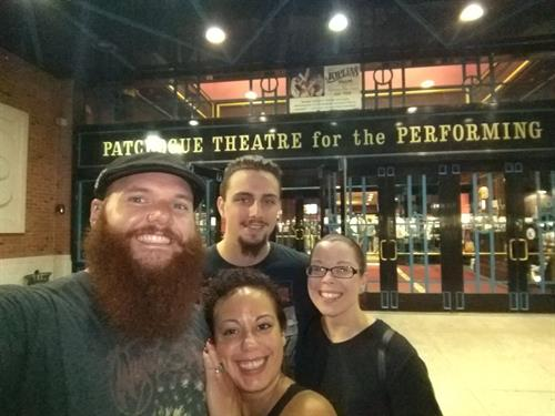 Winners of our Patchogue Theatre ticket giveaway