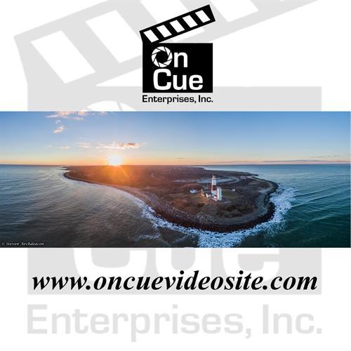 Montauk Lighthouse Aerial Panoramic