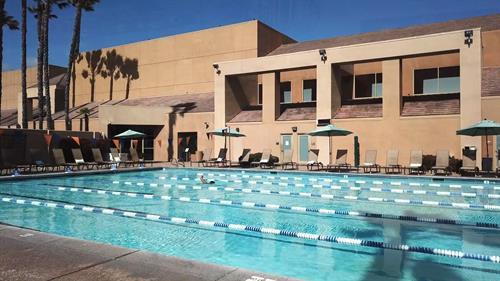 ClubSport San Ramon has a 6-lane lap pool and junior pool.