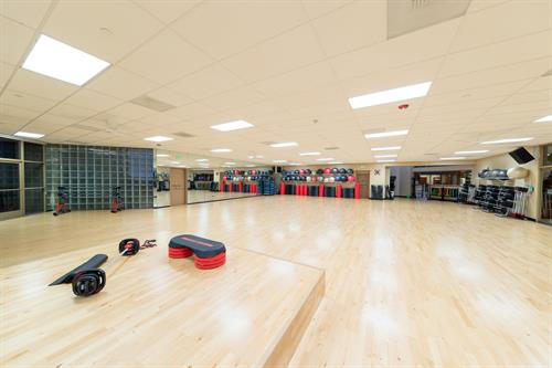 ClubSport San Ramon has four studios