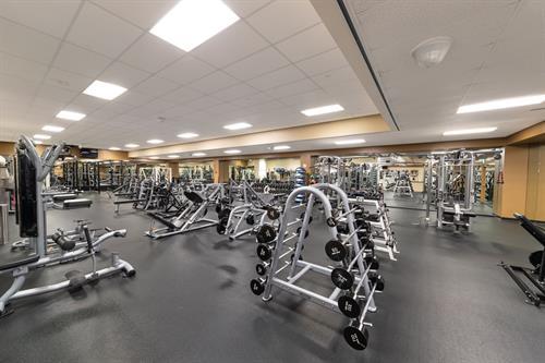Weight Room at ClubSport San Ramon