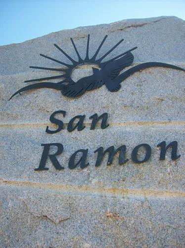 City of San Ramon Entrance