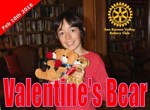 Valentine's bears for seniors