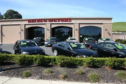 Diablo Motors from San Ramon Valley Blvd.