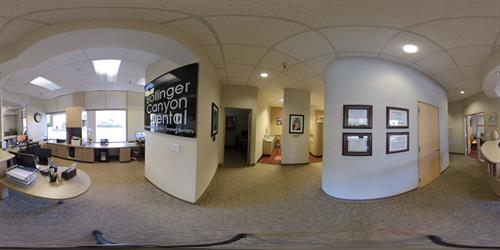 "San Ramon Dental Office Interior ""Bollinger Canyon Dental"""