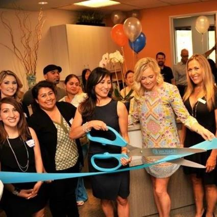 Ribbon Cutting for our new office, June 2015