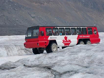 Columbia Icefield near Jasper (2010)