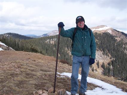 Hiking Santa Fe Baldy (2009)