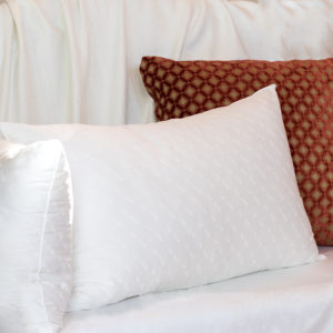 Ling Size Sleeping Fine Pillow, a luxury and hypoallergenic pillow.