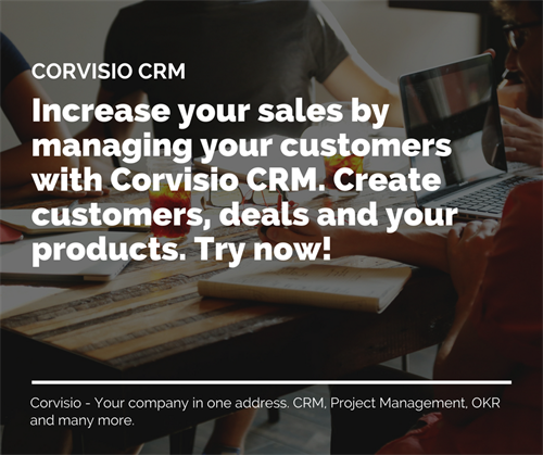 Simple to use CRM designed for Service Companies. Give it a try!