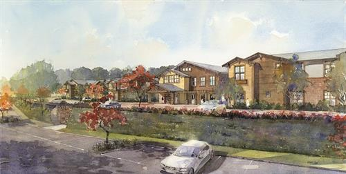 The Watermark at San Ramon exterior rendering