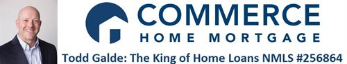 The King of Home Loans - A Brand Created for Todd Galde, Senior Mortgage Advisor (NMLS #256864) at Commerce Home Mortgage