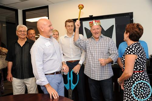 Ribbon Cutting for my client, Todd Galde: The King of Home Loans (NMLS #256864)