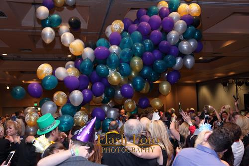 Balloon Drop at Professionals Guild New Year's Eve Party