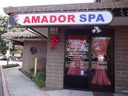 In 2018, we purchased Amador Spa in Dublin.