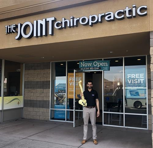 Dr Manny at The Joint Chiropractic San Ramon