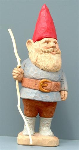Gnome with a Stick