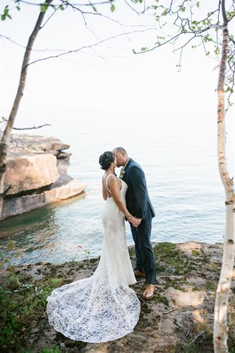E & J's Madeline Island Elopement