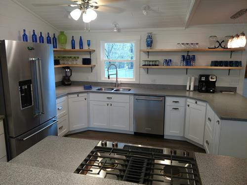 Kitchen in 19th hole