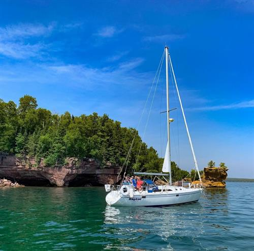 Dreamcatcher Sailing in the Apostle Islands, Lake Superior - call us to book trips!