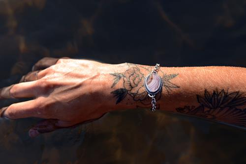 Agate Bracelet. Photo by Madeline Brown.