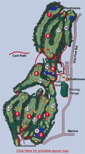 Madeline Island Golf Club Golf Course Golf Course