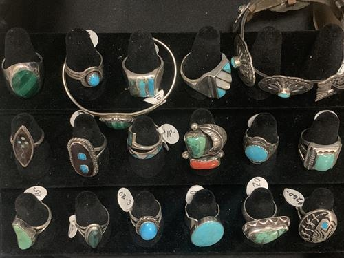 Vintage SW rings from our jewelry selection