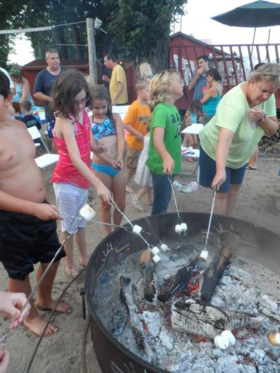 Roast S'Mores at the Campfire!
