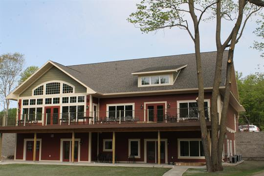 Our new lodge is a great place to spend time together as a family and grab a snack!