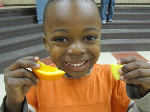 Healthy after school snack served to 800 Durham Region children every day