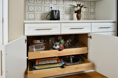 Cabinet Accessories-Roll out Drawers
