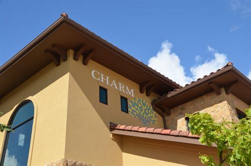 CHARM entrance