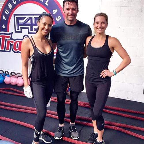 The woverine works out at F45 and so should Hugh!