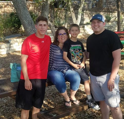 I am a mom of 3 boys.  Plus, I have been blessed with 2 grandchildren!  I am from Beeville, Texas.  I was raised and graduated from Round Rock High School.