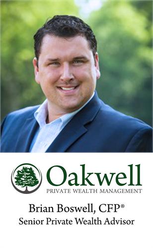 Brian Boswell, Senior Private Wealth Advisor, CFP®
